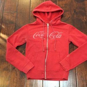Red Coca Cola Trademark Jacket